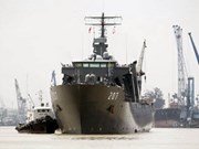 Singaporean naval ship arrives in HCM City
