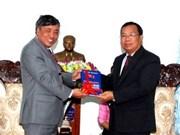 Lao leaders help VNA – KPL cooperation