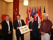 French presents documents on Hanoi Opera House