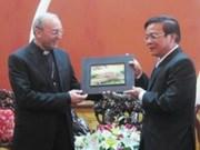 Vatican representative visits Thua Thien-Hue