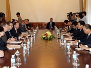 Foreign Minister meets US business delegation
