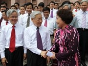 Party leader stresses importance of ideology