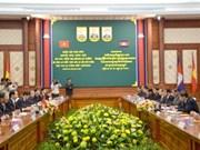 VN public security delegation visits Cambodia