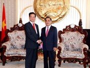 Lao press highlights PM Dung's visit