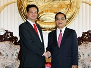 Vietnam, Laos vow to strengthen relations