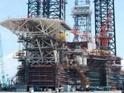 PetroVietnam launches drilling rig, oil platform