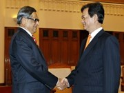 Prime Minister greets Indian Foreign Minister