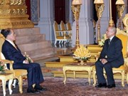 NA Chairman meets Cambodian King, Prime Minister