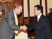State President bids farewell to IMF representative
