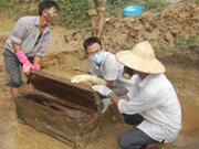 Tiny 300-year-old tomb found