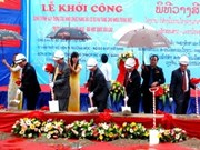 Vietnam builds facilities for Lao university