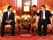 Vietnamese NA Office delegation visits Laos