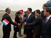 Prime Minister arrives in Netherlands