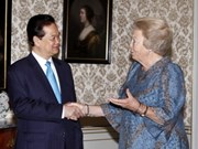 Prime Minister meets Dutch Queen