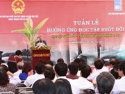 Week of lifelong learning launched in Hanoi