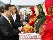 PM Nguyen Tan Dung begins Ukraine visit