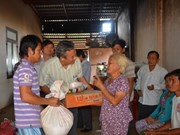 Help to overseas Vietnamese flood victims in Cambodia