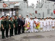 Australian Navy ships visit Ho Chi Minh City