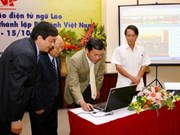 Vietnam Pictorial launches Lao web page