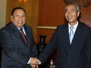 Vietnam, Laos cooperate in front work