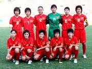 Women win football bronze in Laos