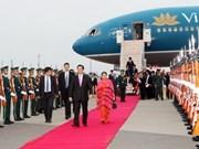 Prime Minister arrives in Japan