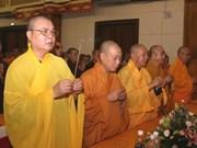 Fatherland Front head congratulates Buddhists