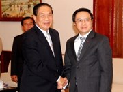Vietnam Party delegation visits Laos