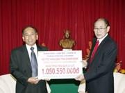 HCM City aids 50,000 USD to Lao flood victims