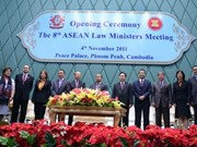 ASEAN justice ministers meet in Cambodia