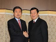President Sang winds up visit to RoK