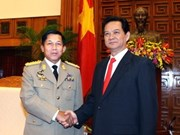 Prime Minister receives Myanmar's army chief