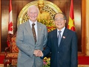 NA Chairman receives Canadian Governor General