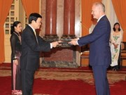 State President welcomes foreign guests