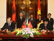 PM welcomes Albanian deputy PM