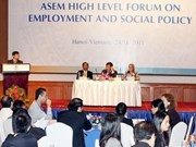 Hanoi hosts high-level employment forum