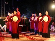 Xoan singing recognised as world heritage