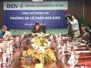 BIDV set to launch IPO this month