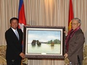 Party General Secretary active in Cambodia
