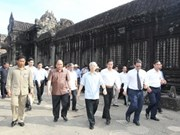 Party leader wraps up Cambodia visit
