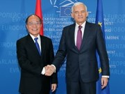 NA leader's visits lift ties with EP, Belgium, UK
