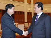 PM welcomes Lao health, post-telecoms ministers