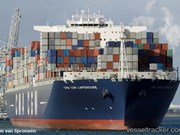 Cai Mep port welcomes super container ship