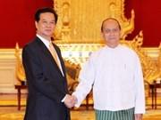 Vietnam, Myanmar agree to increase trade ties