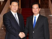 PM Dung meets Chinese Vice President