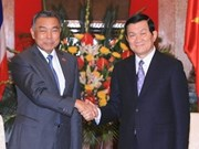 State, Gov't leaders receive Thai Senate President