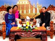 Hanoi women bolster cooperation with Vientiane sisters