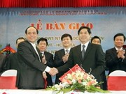 Nam Trieu shipyard delivers five vessels