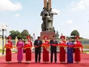 Memorial symbolises Vietnam-Cambodia ties