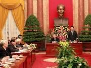 President, VFF boost coordination